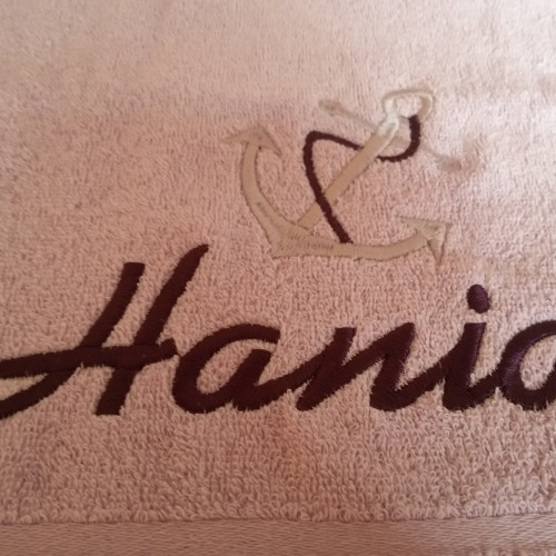 Dla Hani z kotwica